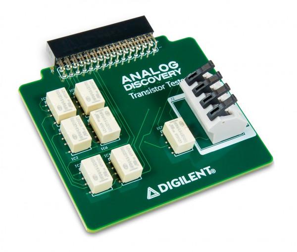 Transistortester für das Analog Discovery