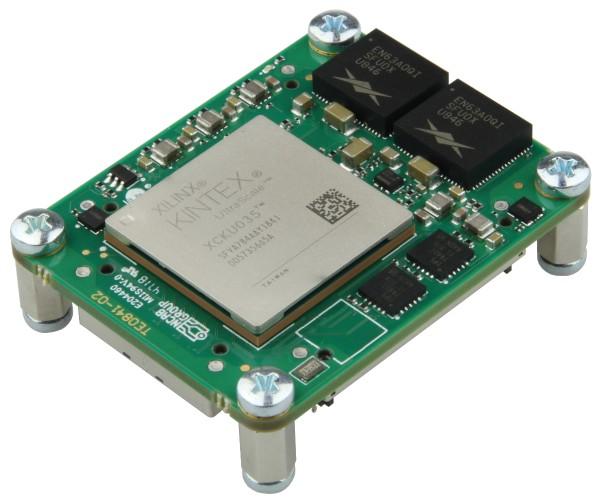 Mikromodul mit Xilinx Kintex UltraScale KU035-2, 2 GByte DDR4, 4 x 5 cm