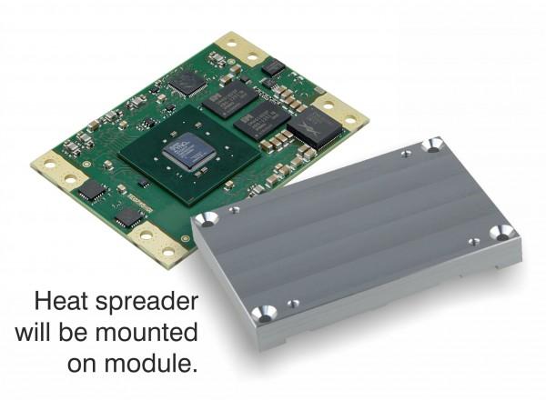 SoM with Xilinx Zynq-7030 and Heat Spreader,1 GByte DDR3L SDRAM, 5.2 x 7.6 cm