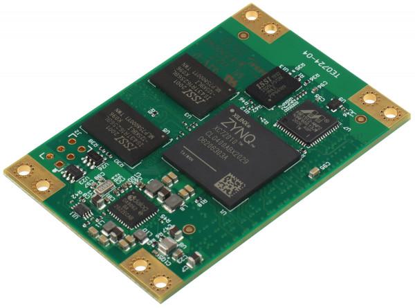SoC-Modul mit Xilinx Zynq-7010, 1 GByte DDR3L, 4 x 6 cm
