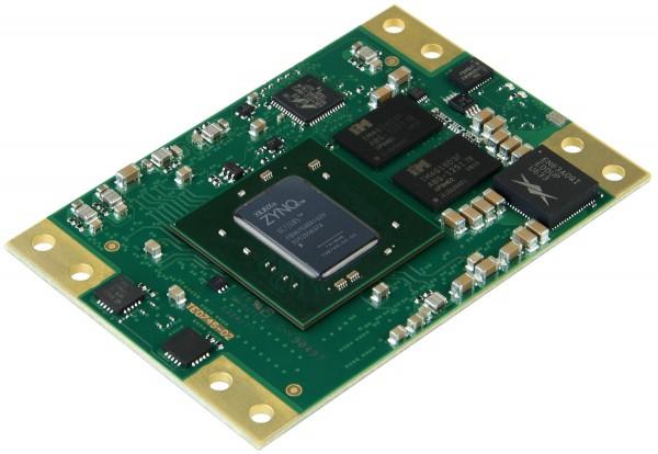 SoM mit Xilinx Zynq XC7Z045-2FBG676I, 1 GByte DDR3L SDRAM, 5,2 x 7,6 cm