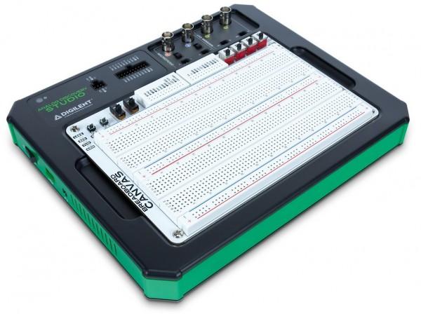 Analog Discovery Studio (academic): portable circuits laboratory
