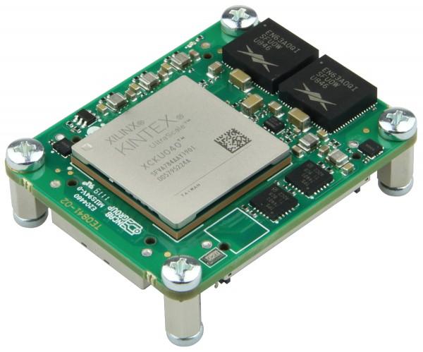 Mikromodul mit Xilinx Kintex UltraScale KU040, 2 GByte DDR4, 4 x 5 cm