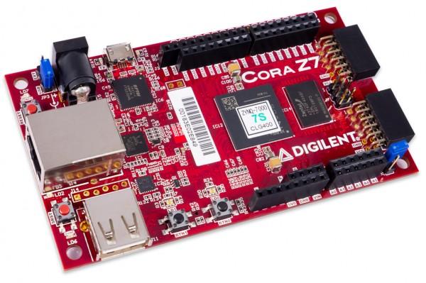 Cora Z7-07S Zynq-7000 Single Core for ARM/FPGA SoC Development
