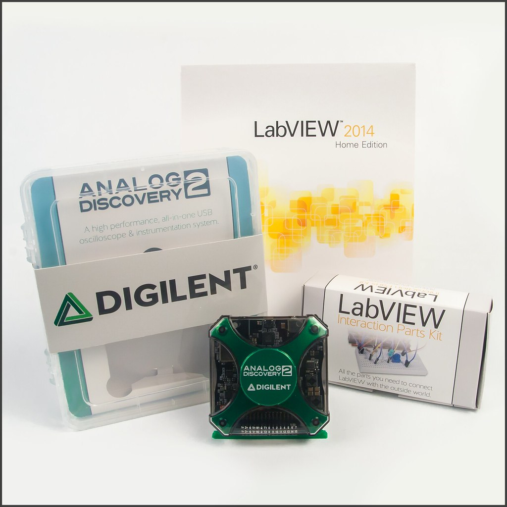 Analog Discovery 2 LabVIEW Bundle   Trenz Electronic GmbH Online