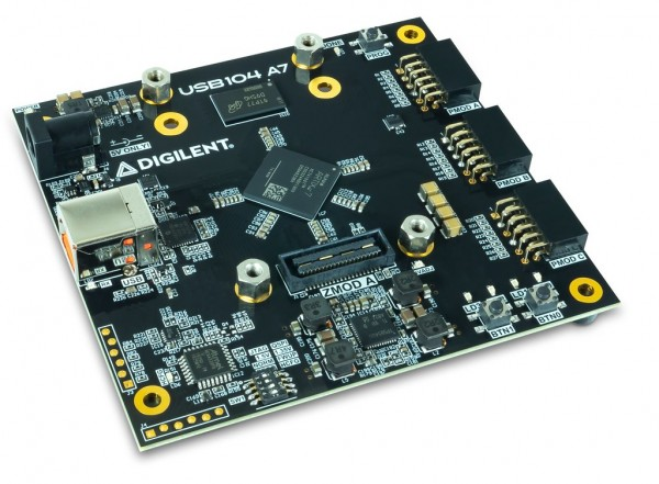 Bundle: USB104 A7 FPGA-Board inklusive Zmod DAC