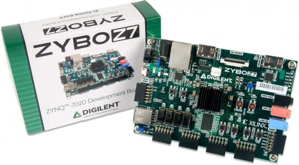 Zybo Z7-20 academic Zynq-7000 ARM/FPGA SoC Plattform + SDSoC-Voucher