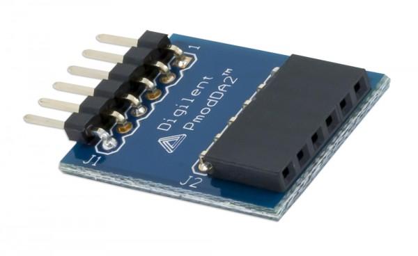 Pmod DA2: Two 12-bit D/A outputs