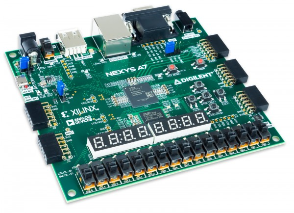 Nexys A7 (100T) academic: FPGA Trainer Board Recommended for ECE Curriculum