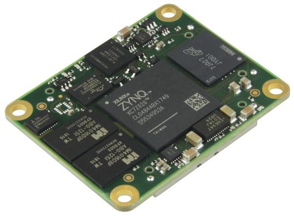 SoC Module mit Xilinx Zynq XC7Z020-2CLG484I, 1 GByte DDR3, 4 x 5 cm, low profile