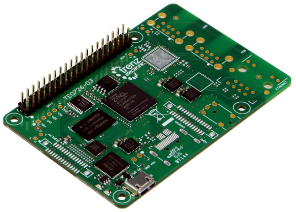"""ZynqBerry"" SoC-Modul mit Xilinx Zynq-7010, Raspberry Pi 2-kompatibel"