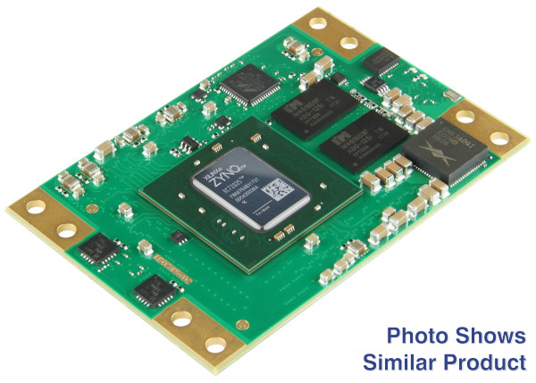 SoM mit Xilinx Zynq XC7Z035-1FBG676C, 1 GByte DDR3L SDRAM, 5,2 x 7,6 cm