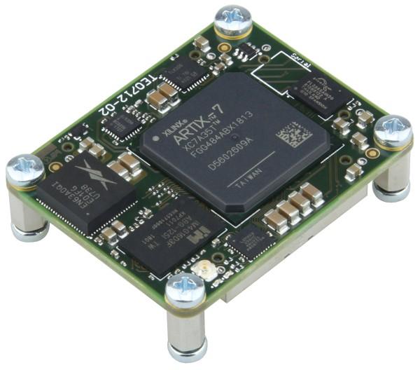 FPGA Module with Xilinx Artix-7 XC7A35T-2FGG484I, 1 GByte DDR3, 4 x 5 cm