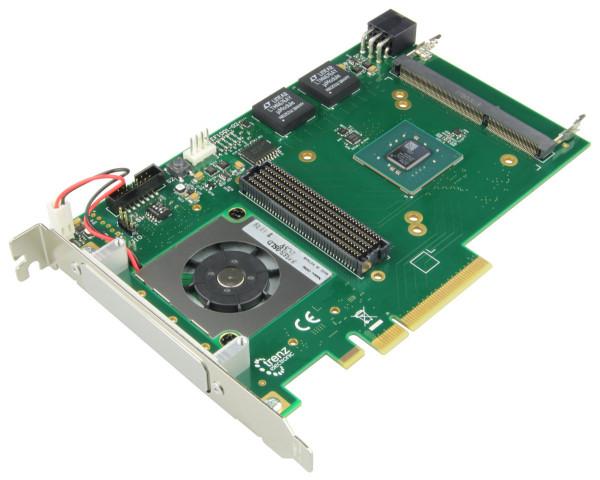 PCIe FMC Carrier mit Xilinx Kintex-7 160T, 4 Lane PCIe GEN2, DDR3 SODIMM ECC