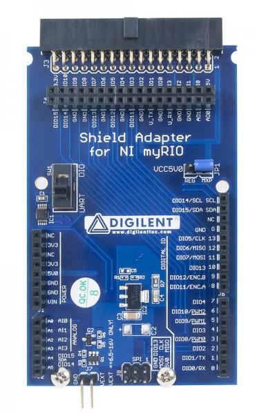 Shield Adapter (Uno R3) for NI myRIO
