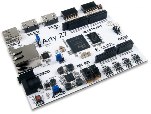 Arty Z7: APSoC Zynq-7000 Z7-10 Development Board for Makers and Hobbyists