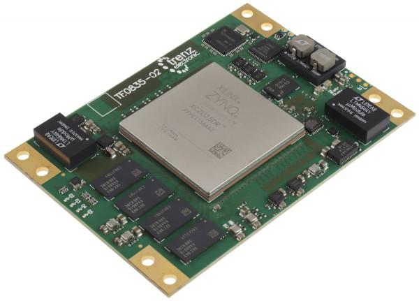 RFSoC-Modul mit Xilinx Zynq UltraScale+ RFSoC ZU25DR-1, 4 GB DDR4, 6,5 x 9 cm