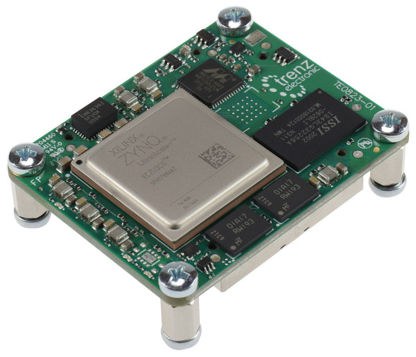 MPSoC Module with Xilinx Zynq UltraScale+ 3CG-L1I, 1 GByte LPDDR4, 4 x 5 cm
