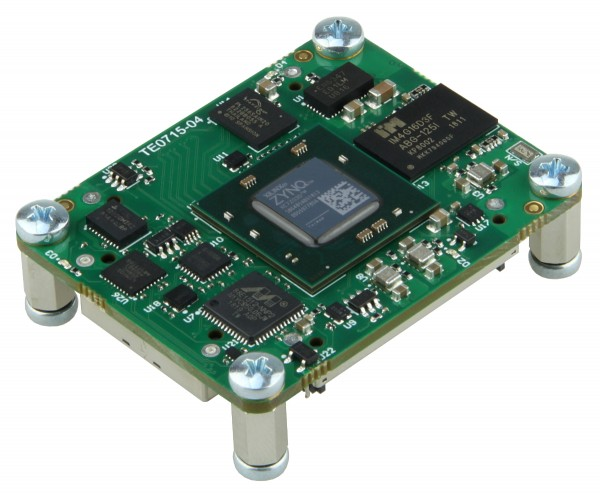 SoC-Modul mit Xilinx Zynq XC7Z030-1SBG485I, 1 GByte DDR3L, 4 x 5 cm
