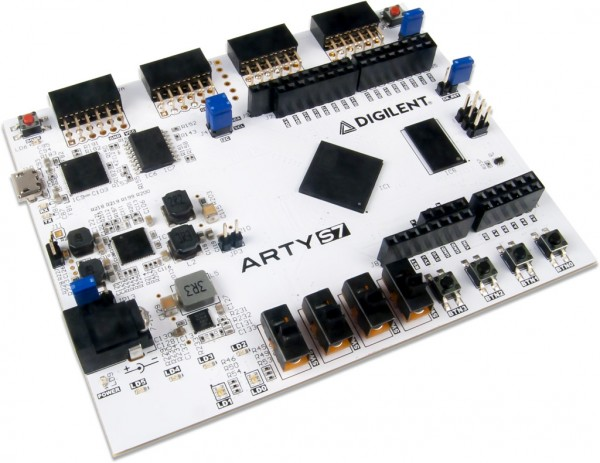 Arty S7: Spartan-7 FPGA for Makers and Hobbyists with Xilinx XC7S25