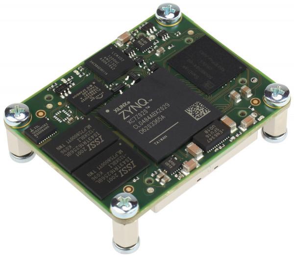 SoC-Modul mit Xilinx Zynq 7020-2I, 1 GB DDR3 SDRAM, 32 GB e.MMC, 4 x 5 cm