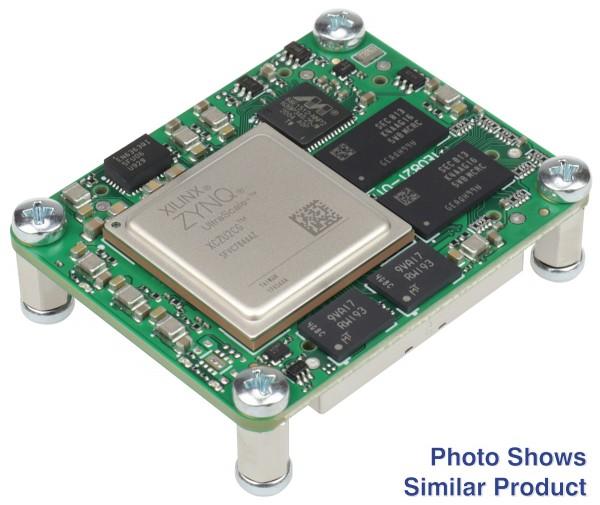 MPSoC Module with Xilinx Zynq UltraScale+ ZU3CG-1, 4 GByte DDR4 SDRAM, 4 x 5 cm