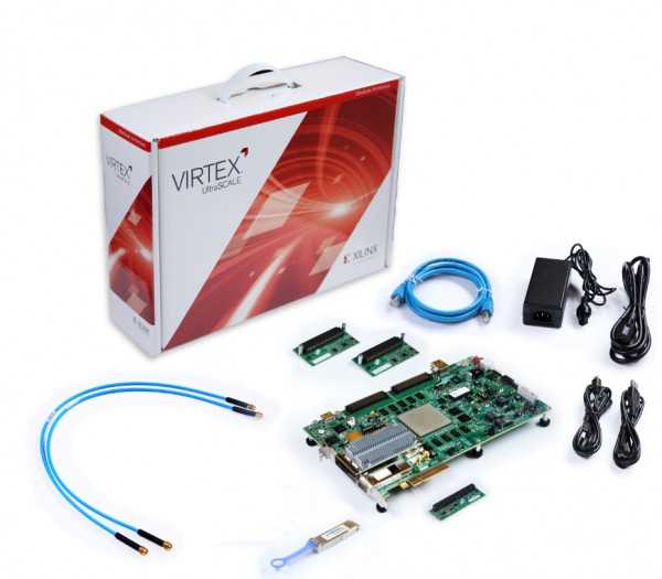 Xilinx Virtex UltraScale FPGA VCU108 Evaluation Kit