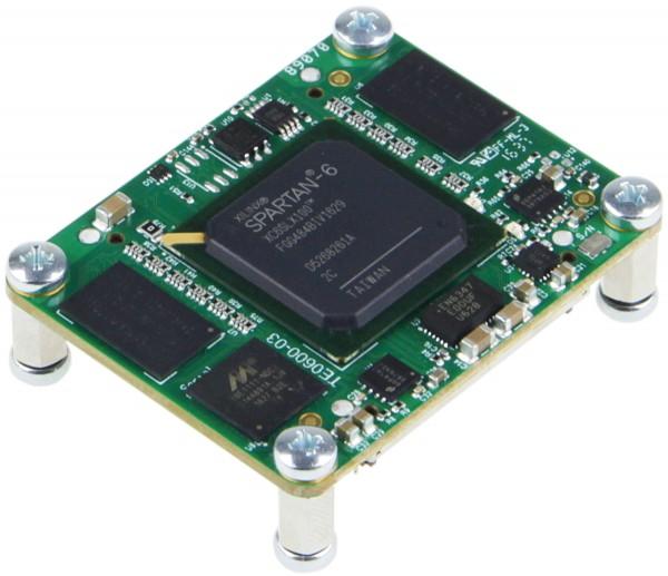 GigaBee XC6SLX100-2, 2 x 512 MByte SDRAM, commercial temperature range