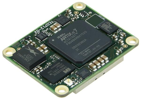 FPGA Module with Xilinx Artix-7 XC7A100T-2C, 1 GByte DDR3, 4 x 5 cm, low profile