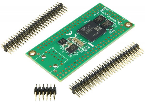 FPGA Module with Xilinx Artix-7 XC7A100T-2CSG324C, 2 x 50 Pin with 2 54 mm  pitch