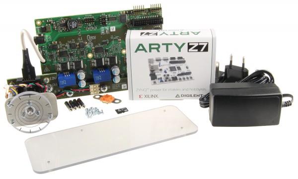 EDDP Motor Control Kit mit Motor & Stromversorgung