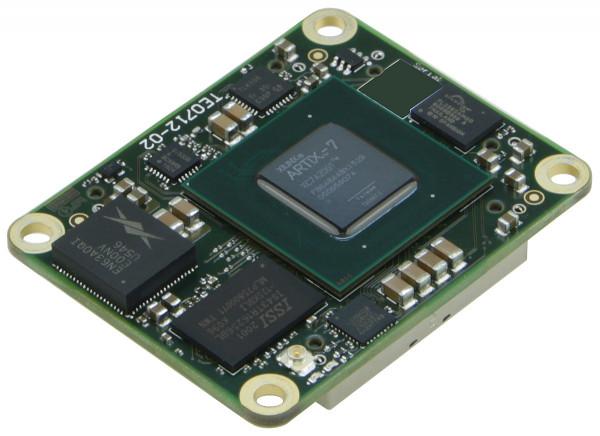 FPGA-Modul mit Xilinx Artix-7 XC7A200T-1I, 1 GByte DDR3, 4 x 5 cm, low profile