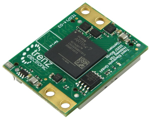 FPGA-Modul mit Xilinx Artix-7 XC7A35T-2CSG325I, 3,3V Konfiguration, 4 x 3 cm