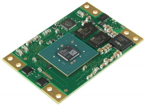 SoM with Xilinx Zynq XC7Z030-2FBG676I, 1 GByte DDR3 SDRAM, 5.2 x 7.6 cm