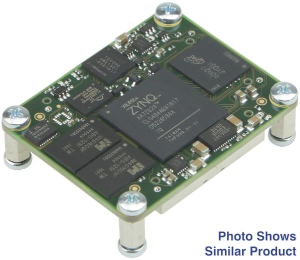 SoC-Modul mit Xilinx Zynq XA7Z020 (Automotive), 1 GByte DDR3 SDRAM, low profile