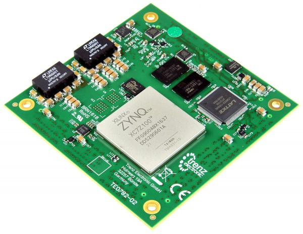 High-Performance Xilinx Zynq Z-7100 Module (industrial) 8.5 x 8.5 cm