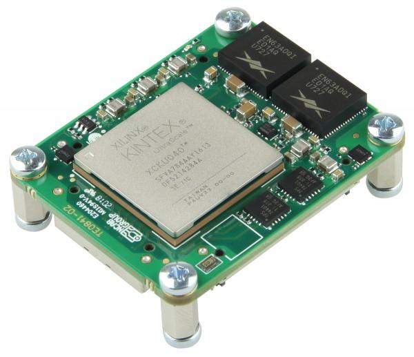 Micromodule with Xilinx Kintex UltraScale KU040, 1C,2 GByte DDR4, 4 x 5 cm