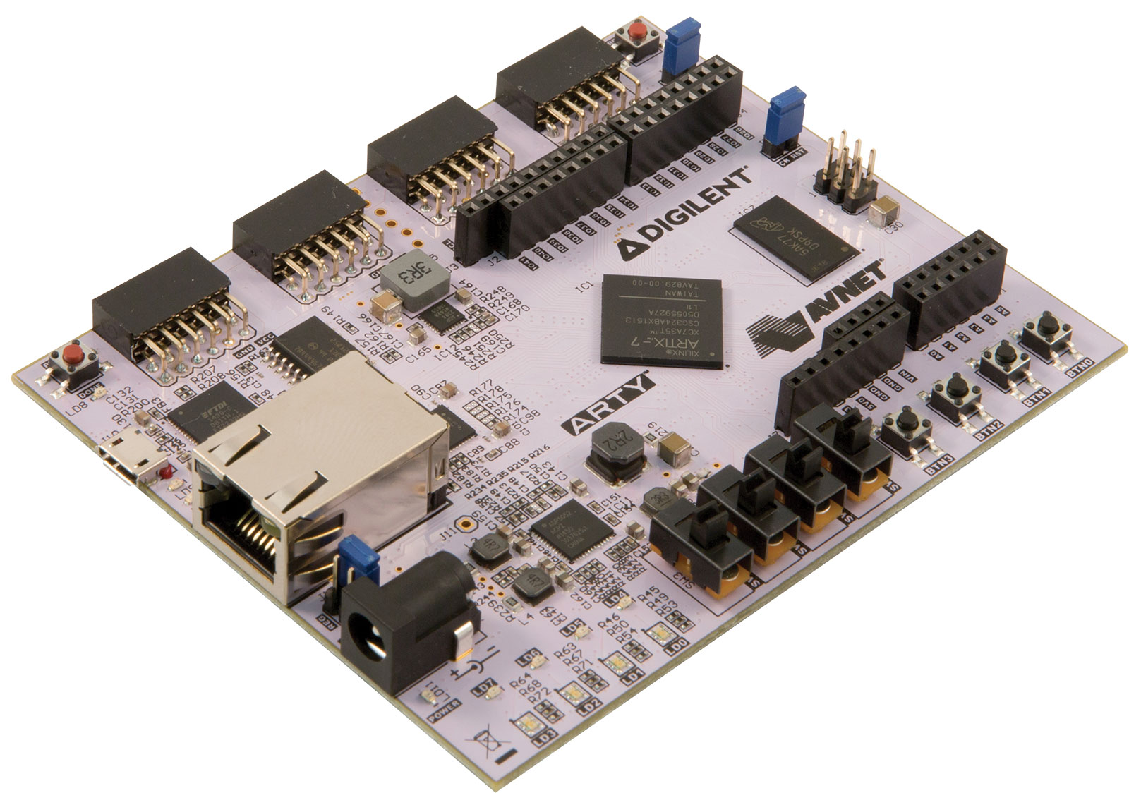 Arty Artix-7 35T FPGA Evaluation Kit | Trenz Electronic GmbH