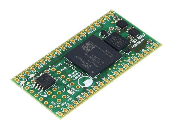 S7 Mini - Fully Open-Source Module with Xilinx Spartan-7 7S25 + 64 MBit HyperRAM