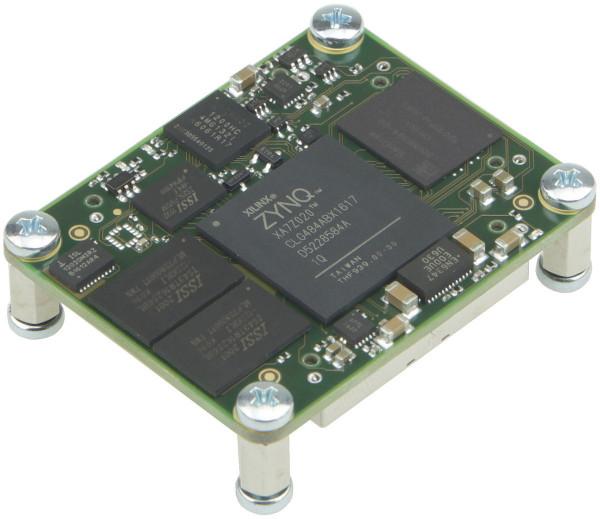 SoC-Modul mit Xilinx Zynq 7020-1Q Automotive, 1 GByte DDR3, 4 x 5 cm