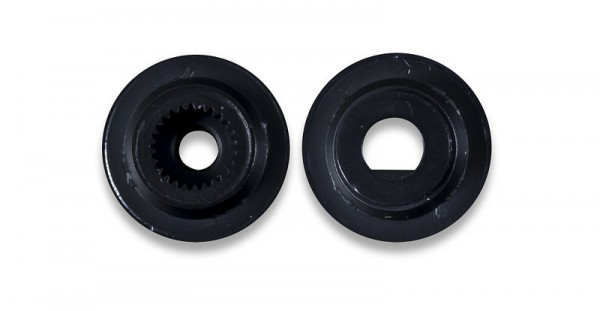 Wheel Kit (D-slot Pair): ABS Injection Molded Wheels