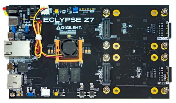 Eclypse Z7: Zynq-7000 SoC Development Board mit SYZYGY-kompatibler Erweiterung