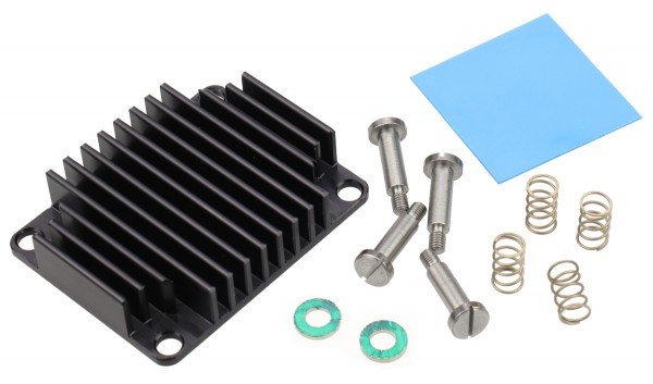 Heat Sink for Trenz Electronic Modules TE0741, spring-loaded embedded