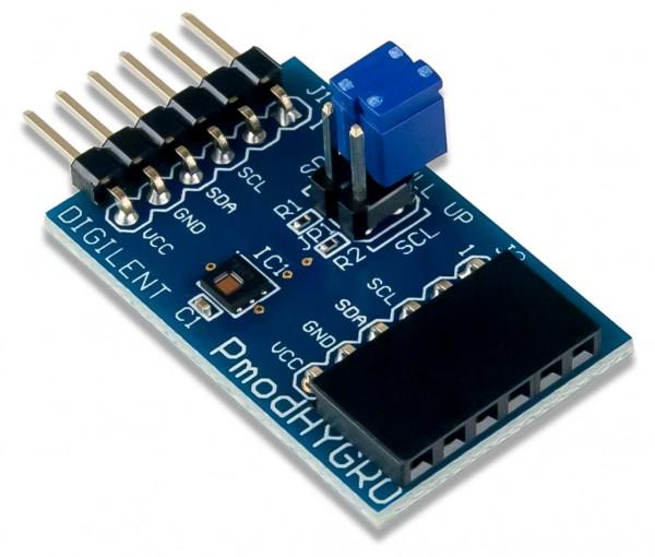 Pmod HYGRO: Digitaler Feuchtigkeits- und Temperatursensor
