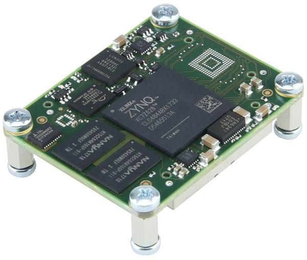 SoC-Modul mit Xilinx Zynq XCZ7020-1CLG484C, 256 MByte DDR3, 4 x 5 cm