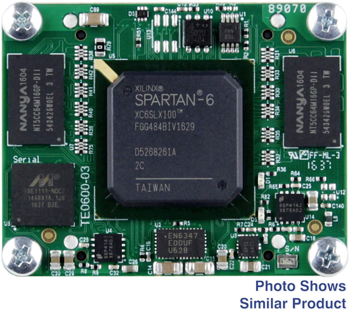 GigaBee XC6SLX150-3, 2 x 512 MByte SDRAM, industrial temperature range