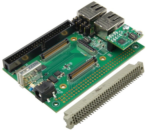 TE0706 - Carrierboard for Trenz Electronic Modules with 4 x 5 cm Form Factor