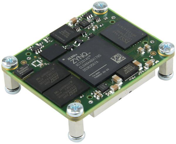 SoC-Modul mit Xilinx Zynq 7014S-1C Single-core, 1 GByte DDR3, 4 x 5 cm
