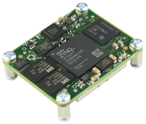 SoC Module with Xilinx Zynq XC7Z020, 1 GByte DDR3, 8 GByte e.MMC, 4 x 5 cm