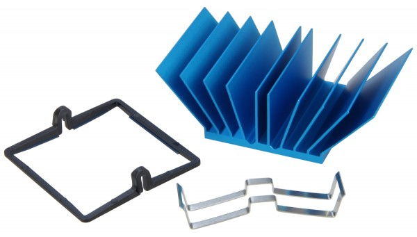 Heatsink SuperGrip for Trenz Electronic TE0808 MPSoC - REV05 only